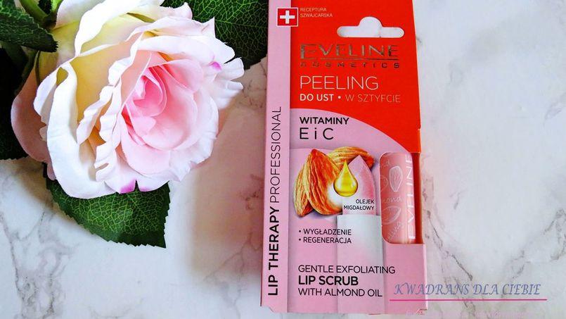 Eveline Lip scrub 8w1 - delikatny peeling do ust w sztyfcie
