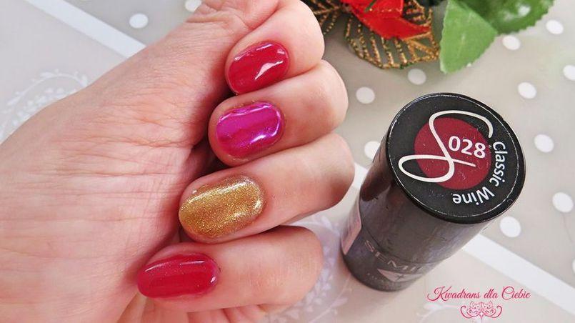 Xmas2017 - świąteczne paznokcie