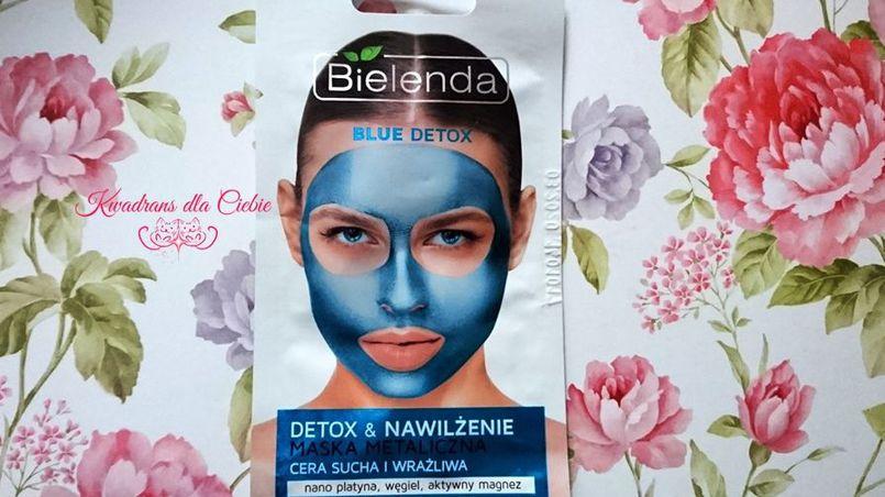Metaliczne maski od Bielenda - recenzja