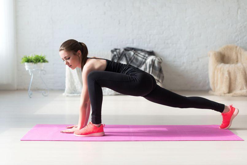 Ćwiczenia wysmuklające dolne partie ciała